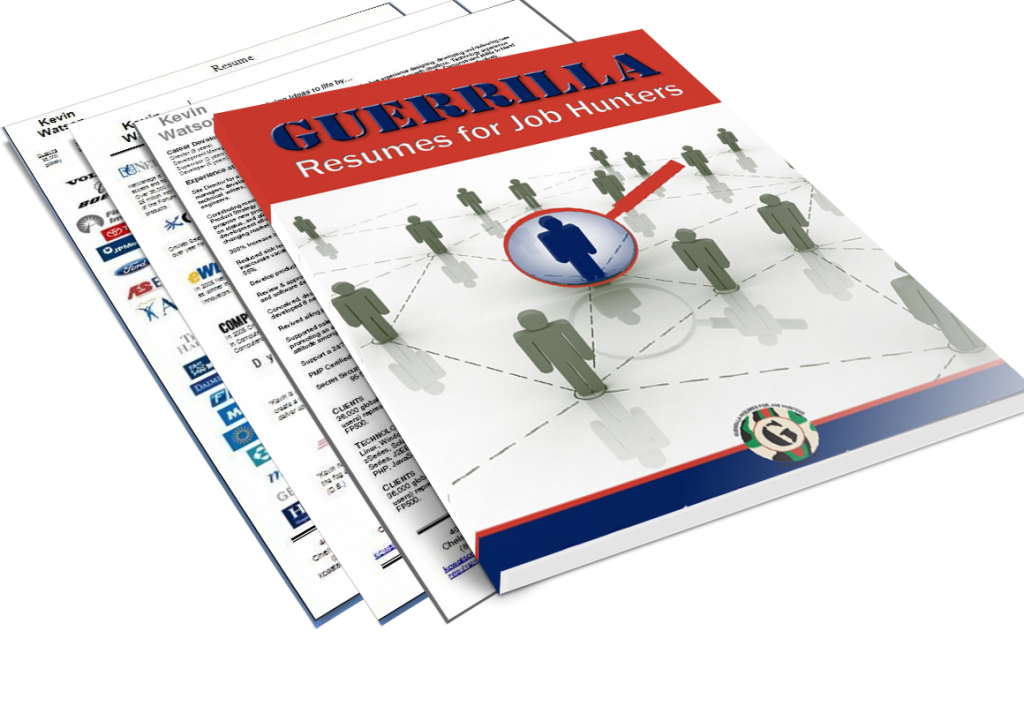Guerrilla Resume EBook As Featured On WSJ Guerrilla Marketing