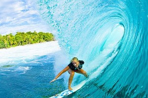 Bethany Hamilton - one armed surfer girl